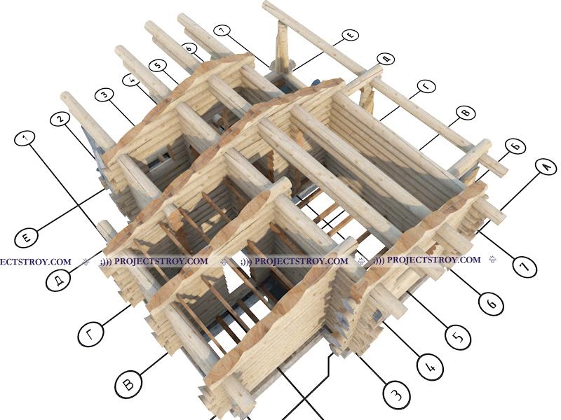 Проекты, проектирование бань, деревянных домов, срубов